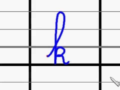 lettre k en attaché Ecriture de la lettre k   YouTube lettre k en attaché