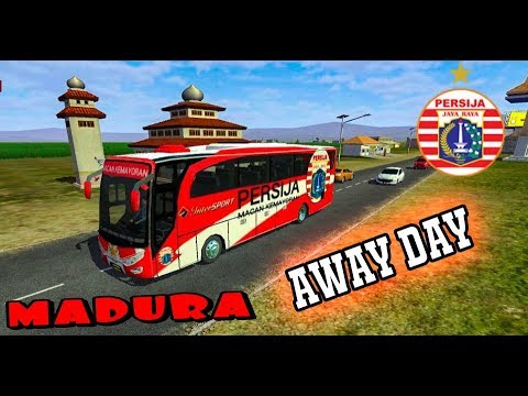 Bussid • LIVERY BUS PERSIJA | AWAY DAY |