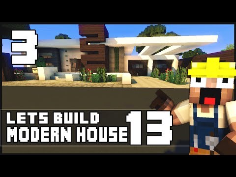 Dashboard video keralis minecraft lets build modern for Keralis modern house 9 part 1