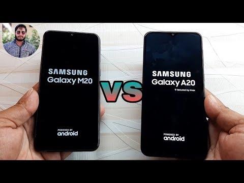 Samsung Galaxy A20 vs Galaxy M20 Speed Test Comparison.