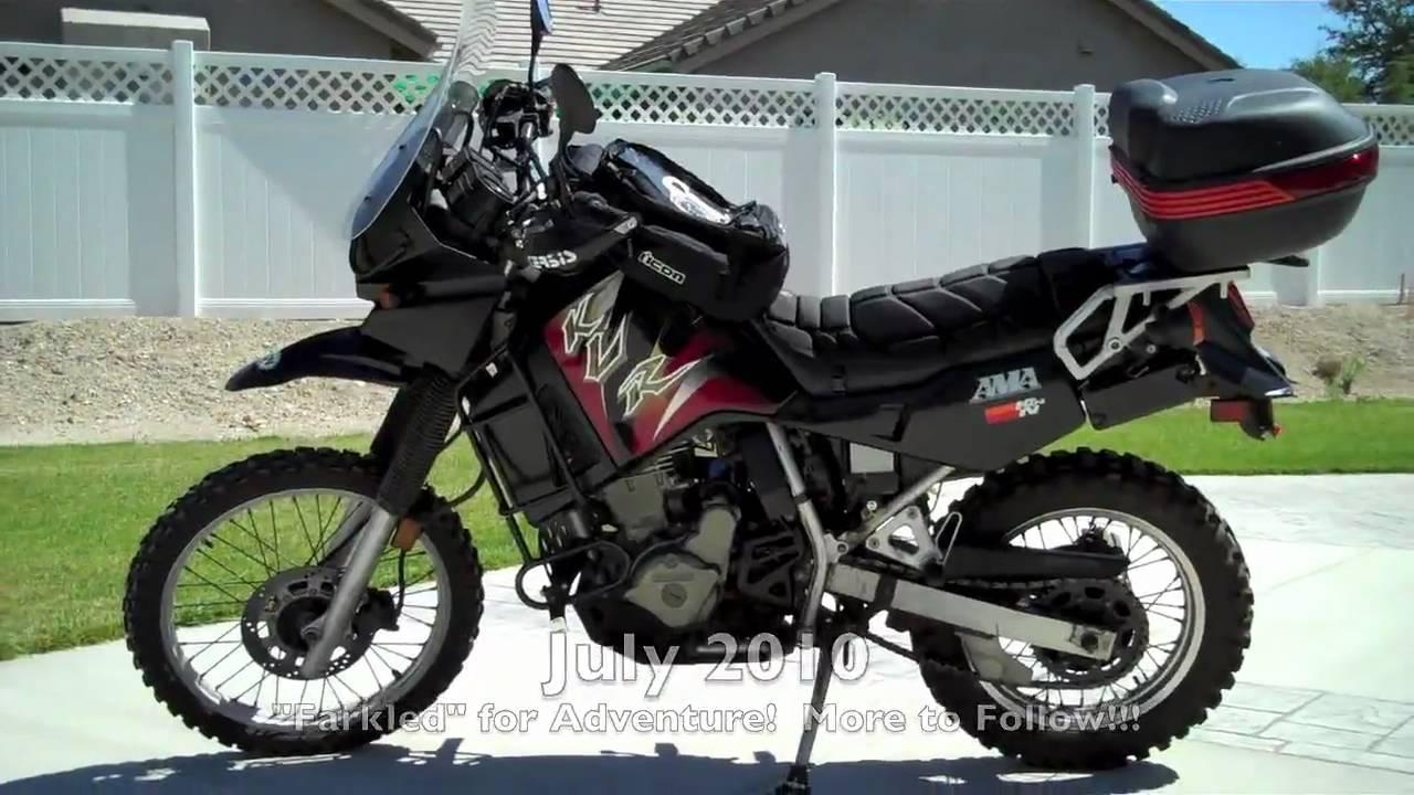 Klr 650 My Kawasaki Adventure Motorcycle Youtube