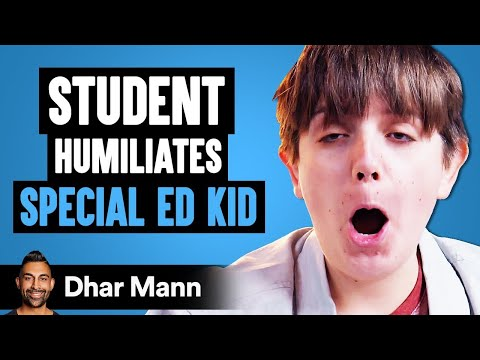 Student Humiliates Special Ed Kid ft. Lewis Howes | Dhar Mann