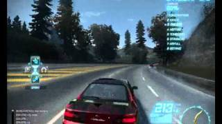 Need For Speed World Gameplay
