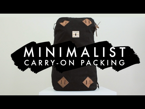 WHAT I'M TAKING TO BELIZE   Minimalist Packing For 12 Days
