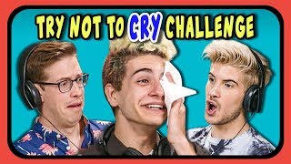 Download YouTubers React To Try Not To Cry Challenge #3 Mp3 and Videos