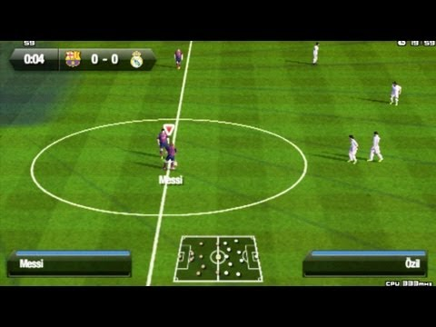 FIFA 14 PSP gameplay HD