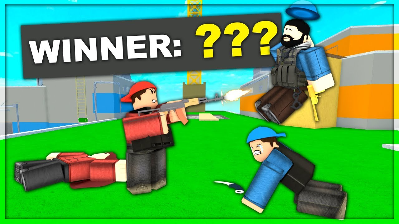 We Challenged Random Fans To Fight Us Arsenal Roblox Youtube
