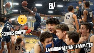 Josh Christopher Responds to Trash Talk! Team Laughs at Own Player BODIED by Michael Ofoegbu Jr!!