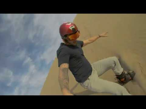 Sand boarding with an Olympian in Kazakhstan - BBC Travel Show