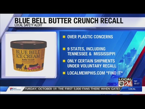 Rob and Hilary - Important info about a new Blue Bell recall