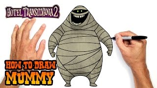 How to Draw Mummy | Hotel Transylvania 2