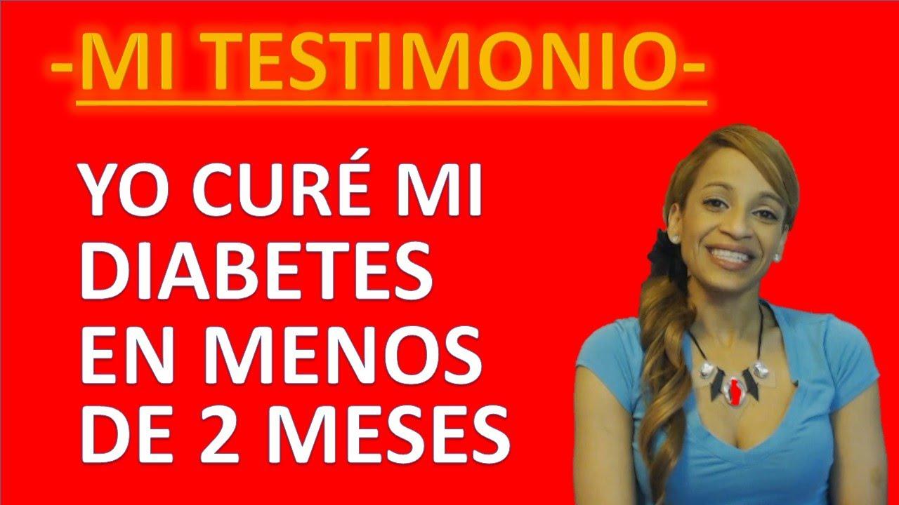 como curar la diabetes de forma natural