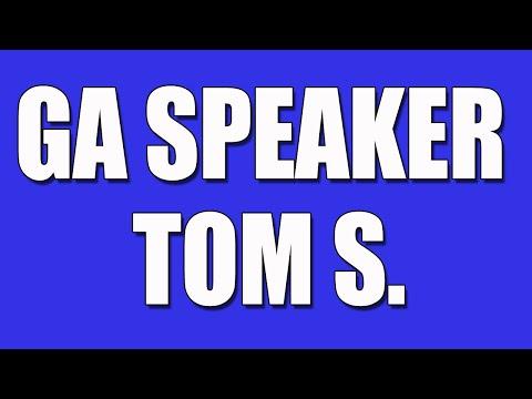 GA Speaker - Tom S. - Gamblers Anonymous Speaker
