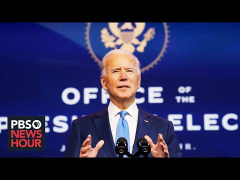PBS NewsHour: Biden pivots from campaigning to governing after Electoral College vote
