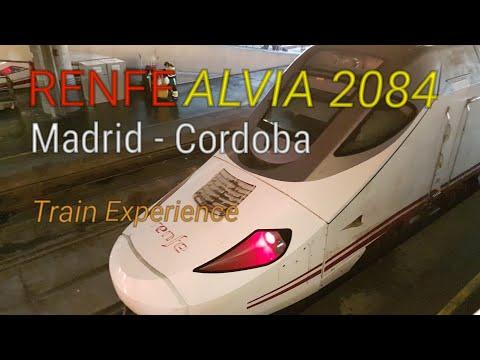 Renfe Alvia Madrid to Cordoba | High Speed Spain Train Business Class Experience - Preferente
