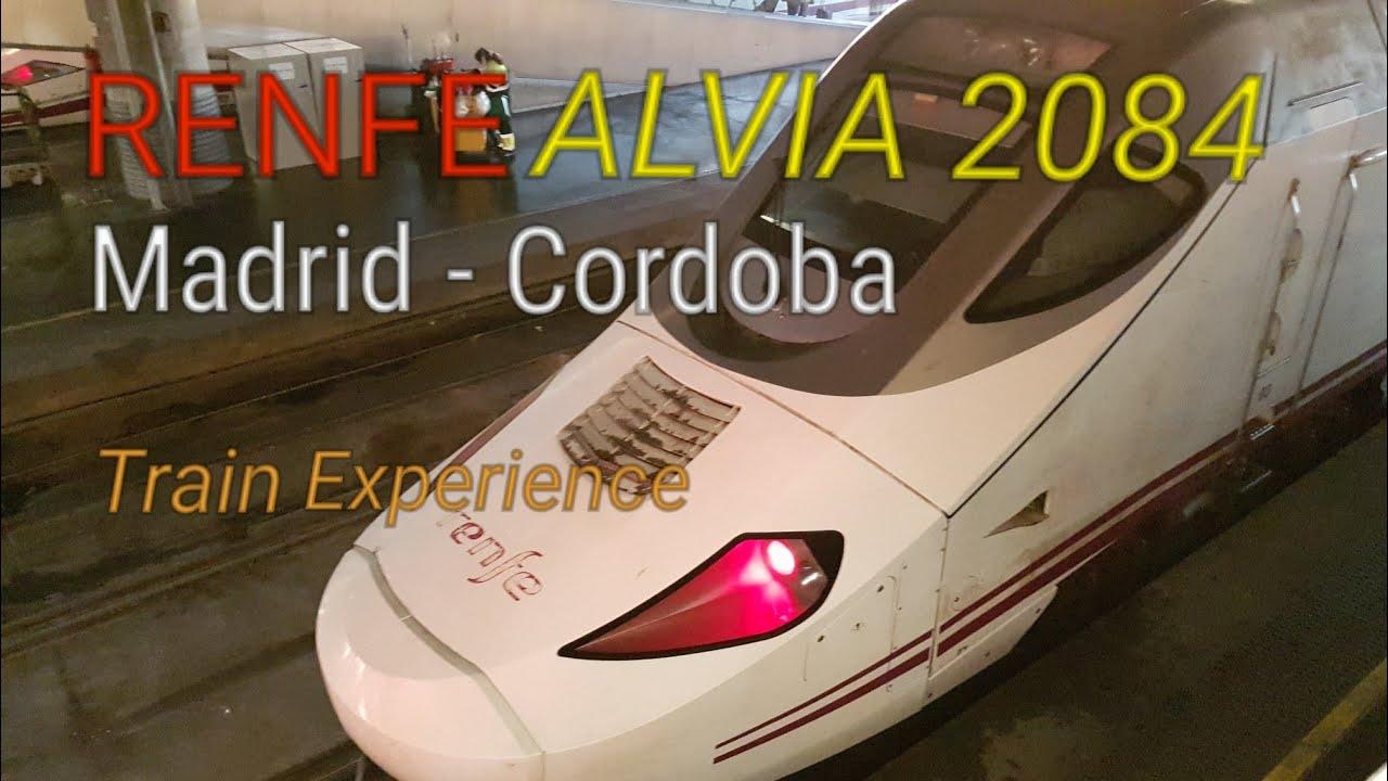 Renfe ALVIA Madrid to Cordoba Spain | First Class High Speed Train Report