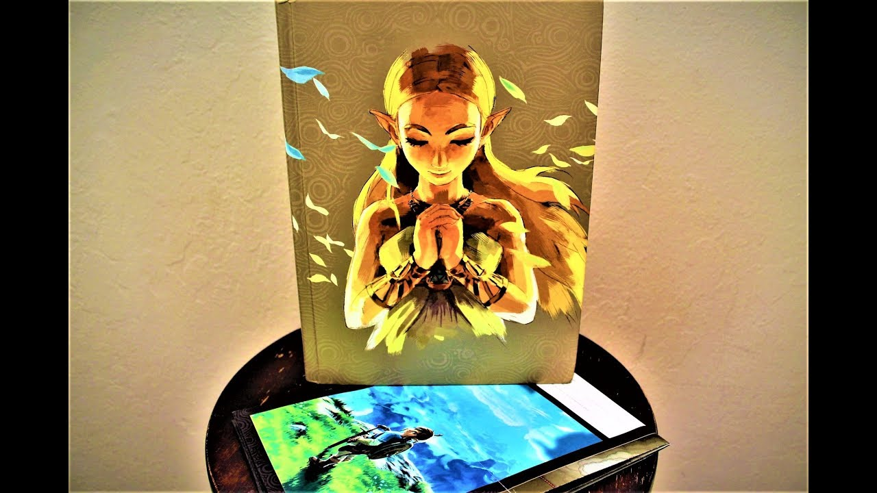 the legend of zelda breath of the wild the complete official guide expanded edition