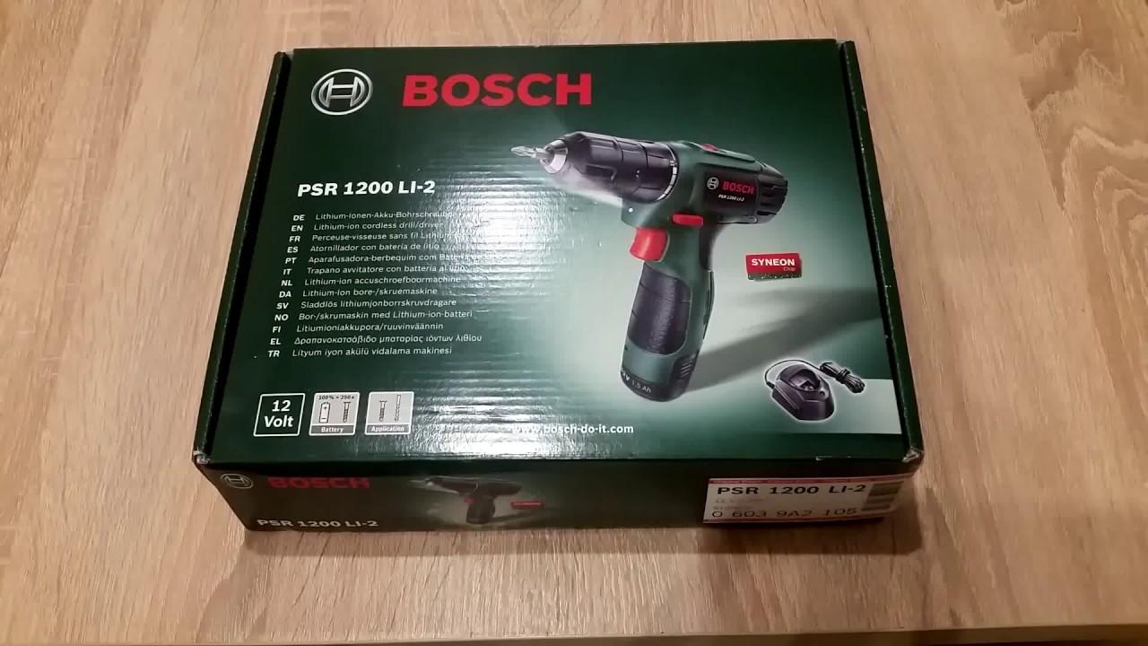 Bosch psr 1200 manuals.