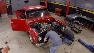 Lowering A 1971 Chevy C10 - Truck Tech S3, E7