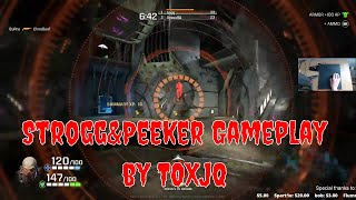 Toxjq playing as strongg  Strogg gameplay Quake Champions