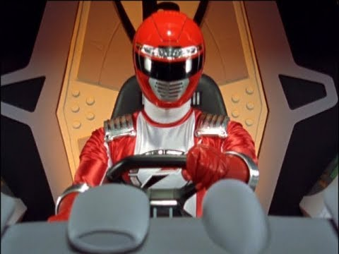 Power Rangers Operation Overdrive - Weather Or Not - Red Ranger to the Rescue (Episode 5)