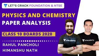 CBSE Class 10 2020 Science Paper Solution | Physics & Chemistry Paper Analysis | CBSE Board Exam