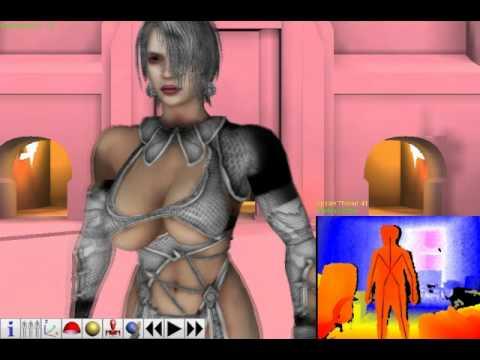 Noesis mocap - Extreme boobie jiggling