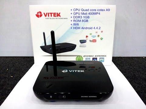 Thiết bị Android Karaoke Vitek