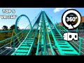 VR 360 Video Of Top 5 Roller Coaster Rides 4K Virtual Reality mp3
