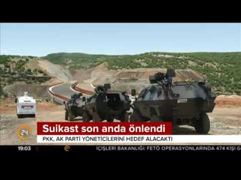 Kobani'den bombalı saldırı için gelen PKK'lı teröristler son anda yakalandı