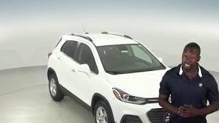 182812 - New, 2018, Chevrolet Trax, 1LT, White, SUV, Test Drive, Review, For Sale -