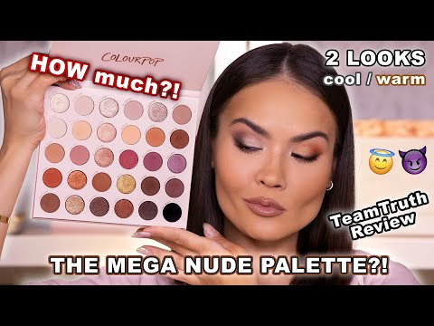 The BIGGEST - COLOURPOP BARE NECESSITIES PALETTE REVIEW + SWATCHES | Maryam Maquillage