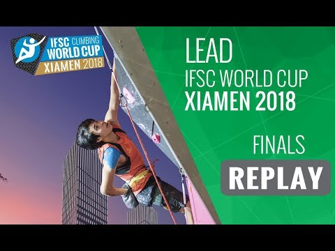 IFSC Climbing World Cup - Xiamen 2018 - Lead - Finals