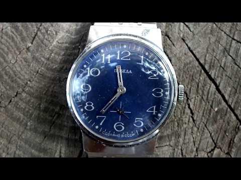 Vintage POBEDA (Победа) 15 Jewels USSR Mechanical Watch.