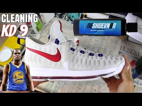 HOW TO: Clean the Nike KD9 (Using @Reshoevn8r)