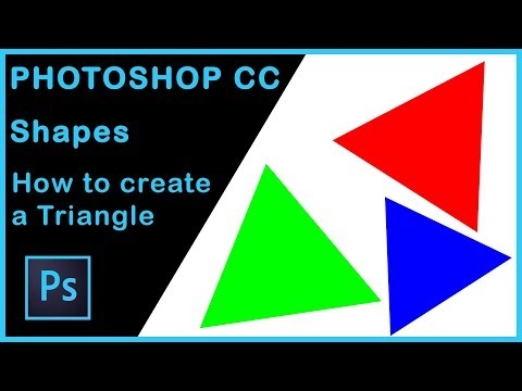 Photoshop Tutorial | How To Create A Triangle