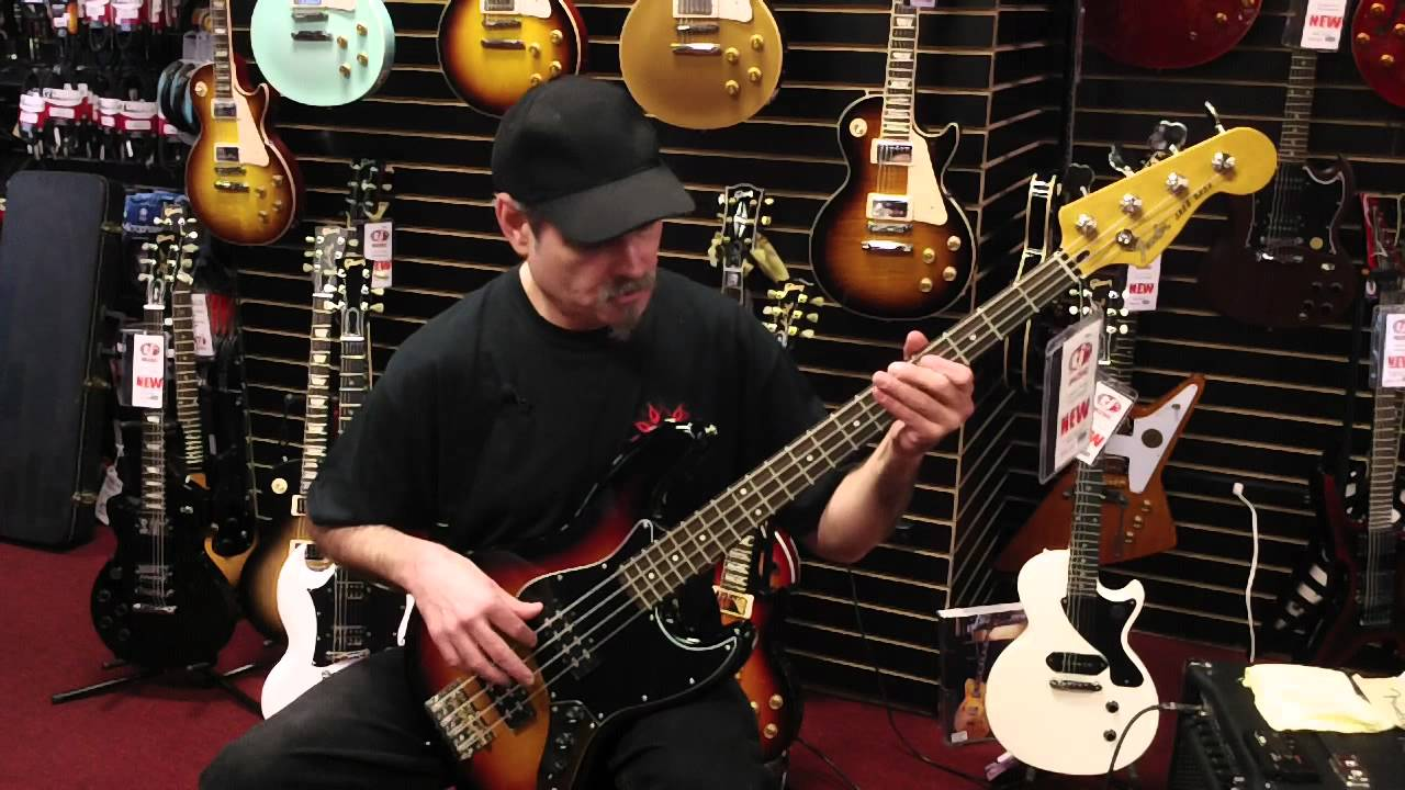 Fender Modern Players Jazz Bass Demo at Tjs Music - YouTube f64c224637ce