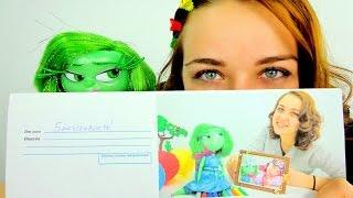 Видео для девочек. Брезгливость учится отправлять письмо