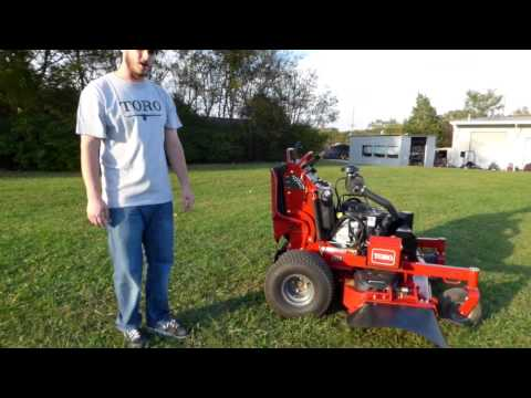 Toro Grandstand Professional Stand-On Mower Review