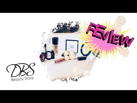 Review y Primera Impresión Productos Marca DBS - Blackat Makeup
