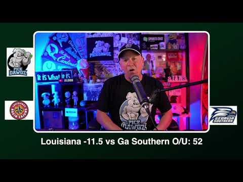 Georgia Southern vs ULL Free College Football Pick and Prediction CFB Tips Saturday 9/26/20