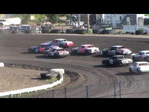 Nodak Speedway IMCA Hobby Stock Heats (Motor Magic Night #2) (9/3/17)