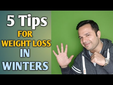 5 Tips To Lose Weight in Winter