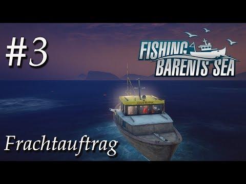 Fischerei Simulator #3 🚢 | Frachtauftrag nach Hammerfest | Fishing Barents Sea Deutsch | Gameplay