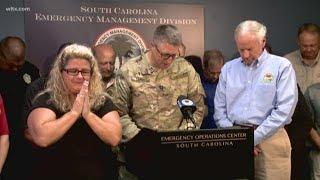 South Carolina Leaders Say a Prayer Due to Hurricane Florence