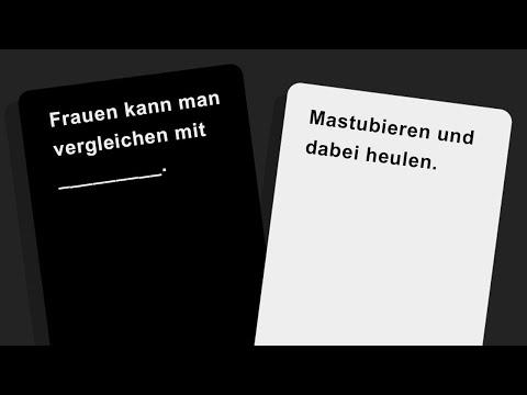 Richtig SCHWARZER Humor 🎮 Cards Against Humanity