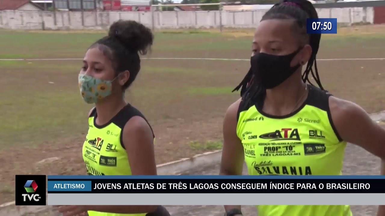 Jovens atletas de Três Lagoas conseguem índice para o Brasileiro