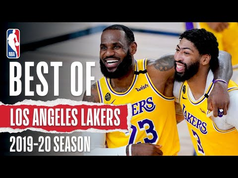 The Very Best Of The Los Angeles Lakers | 2019-20 Season 🏆