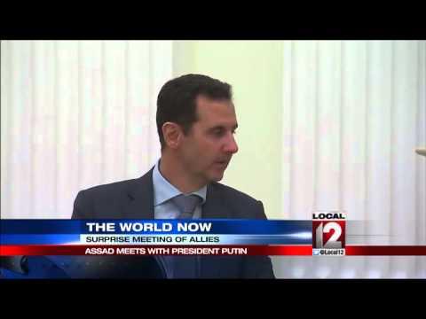 Assad-Putin meeting signals push to end Syria crisis