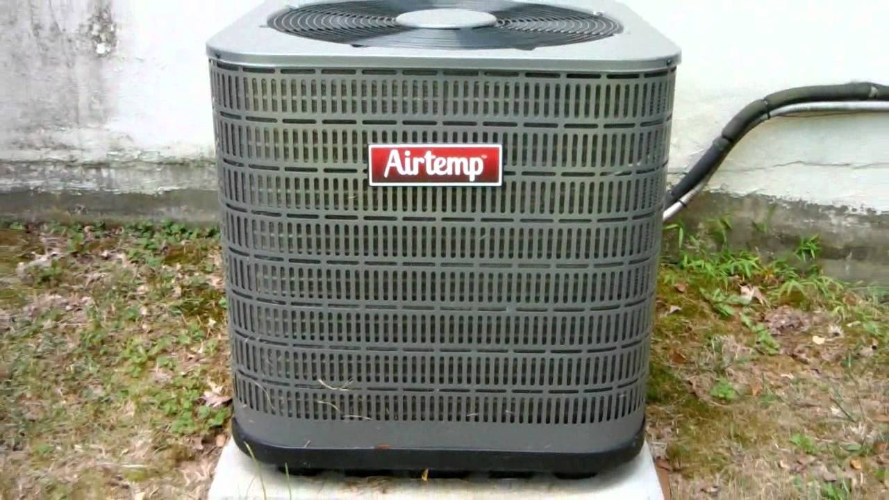 Rheem Wiring Diagram Hotpoint Stove 2011 Or 2012 Airtemp (nordyne) 3.5-ton Straight-cool Central Air-conditioner Running On A Warm ...